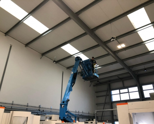 Brand new LED lighting throughout the facility