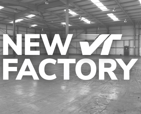 Graphic showing the new Velocetec Factory