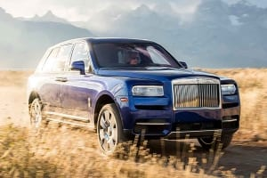Photo of the Rolls-Royce Cullinan
