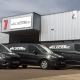 Photo of the new fleet of Velocetec vans
